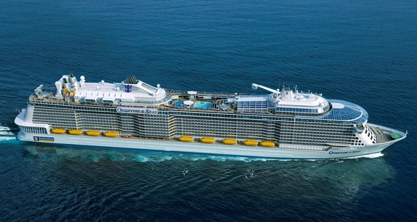 Harmony of the Seas estará operativo en 2016