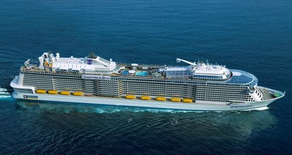 Harmony of the Seas estará operativo en 2016