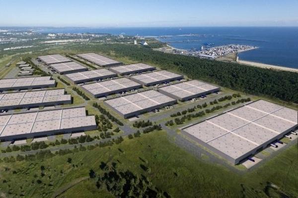 Centro logístico desarrollado por Goodman en Polonia