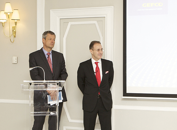 Luc Nadal y Julián Navarro de Gefco España