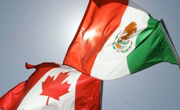 México y Canadá promueven el comercio internacional
