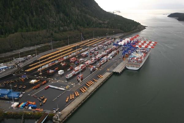 Maher Terminals amplía su terminal de Puerto Prince Rupert