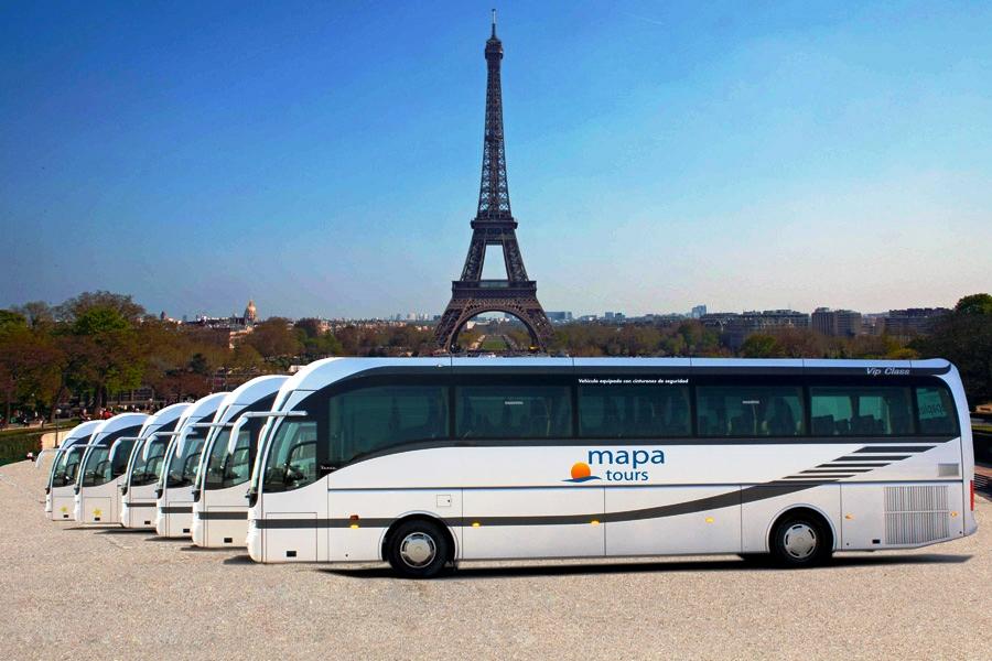Mapa Tours-Autobuses