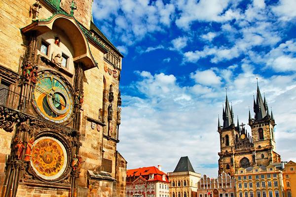 Praga-reloj astronomico