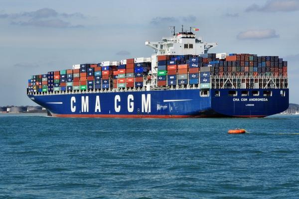 CMA CGM actualiza sus servicios Gulfbridge e Hispaniola