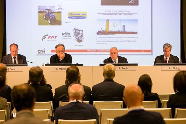 CNH Industrial-junta-accionistas