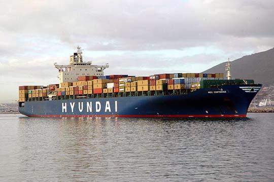 HMM ha cancelado dos pedidos de buques