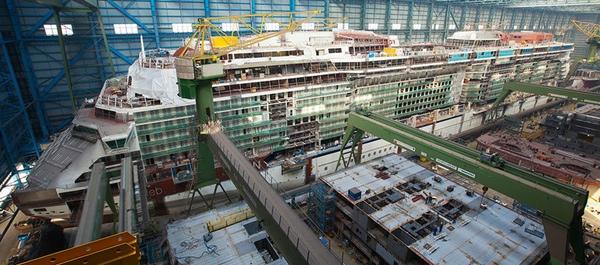 Meyer Werft compra acciones del astillero de Turku