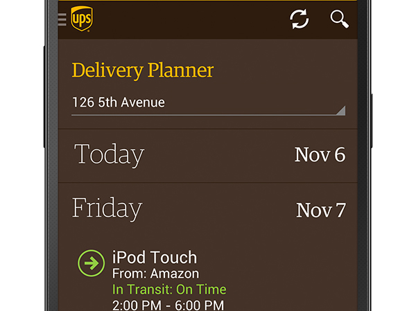 UPS-app-movil-Android