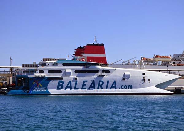 ferry jaume III Balearia