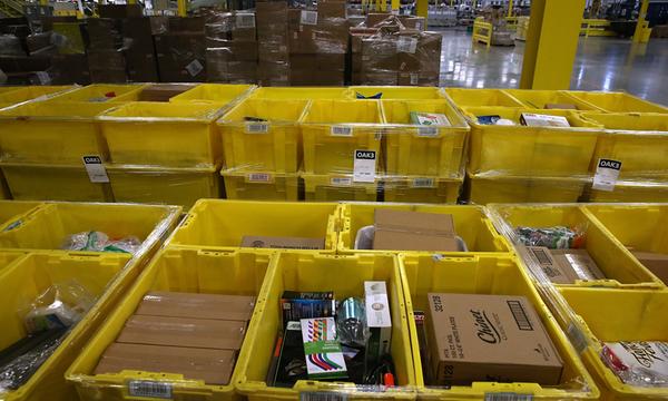 Amazon abre un centro de cumplimiento en Nueva Jersey
