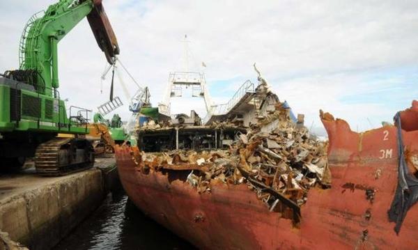 Desguace de buques aumenta en 2015