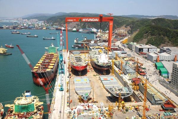 HHI alcanza los 2.000 barcos construidos