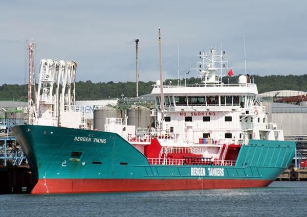 Bergen Viking se transforma en buque de GNL