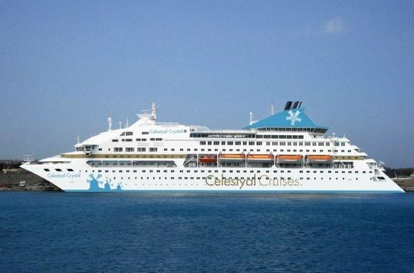 Buque de crucero y buque cisterna sufren un accidente