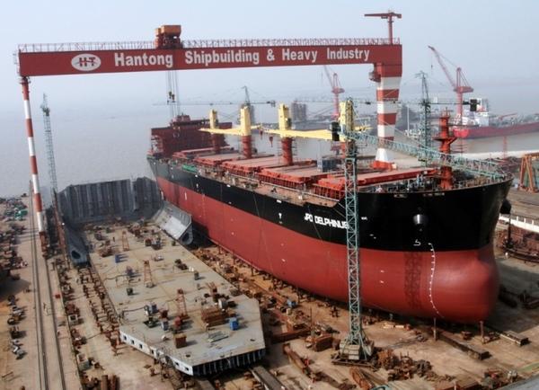 Corea es el mayor fabricante naval