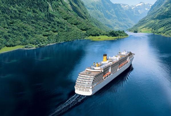 Costa Fortuna en Noruega