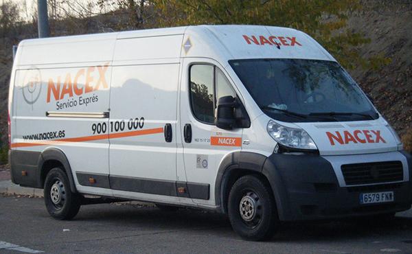 Nacex-furgoneta