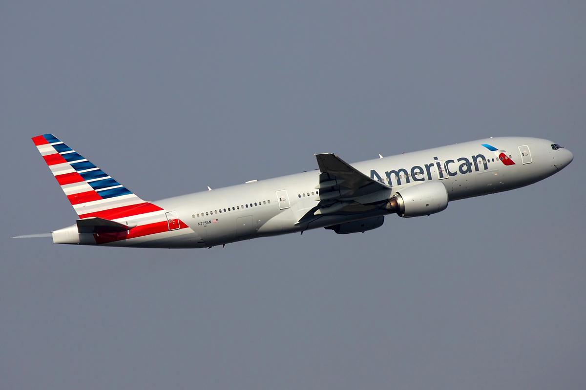 avion de american airlines