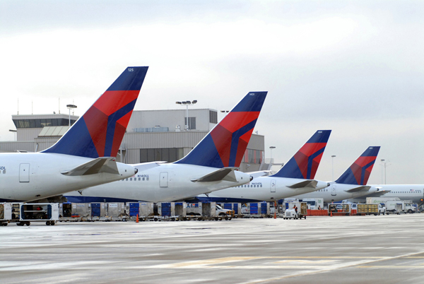 aviones de Delta Airlines