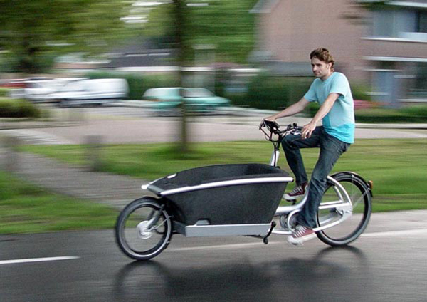 bicileta de cargo