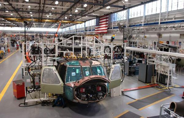 proceso de fabricacion de un helicoptero