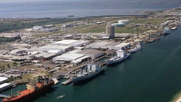 puerto de carga de cañaberal