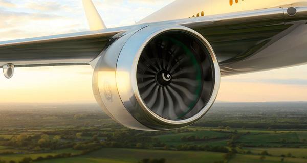 turbofán ge9x