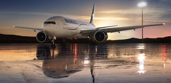 Aeroméxico crece un 20 por ciento en el sector de carga