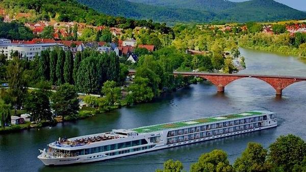 Bajo nivel de agua en ríos europeos suspende cruceros fluviales