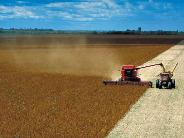 Brasil refuerza las exportaciones de soja
