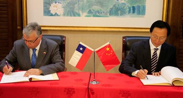Chile quiere reforzar lazos económicos con China