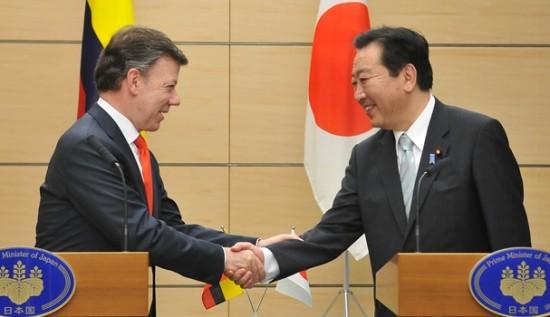 Colombia quiere firmar un TLC con Japón