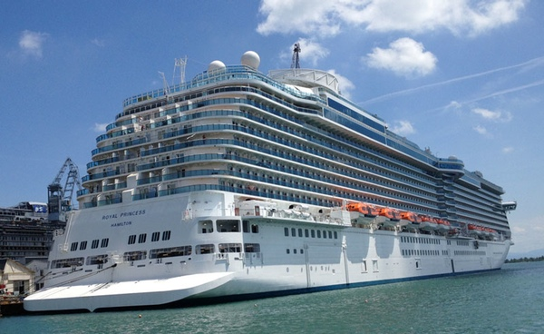 Dublín recibe cuatro cruceros de lujo