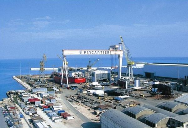 Fincantieri comienza a construir buque de Princess Cruises