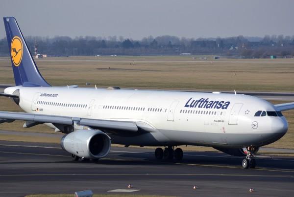Lufthansa airbus