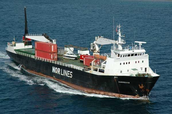 Nuevo buque de NorLines sufre un accidente