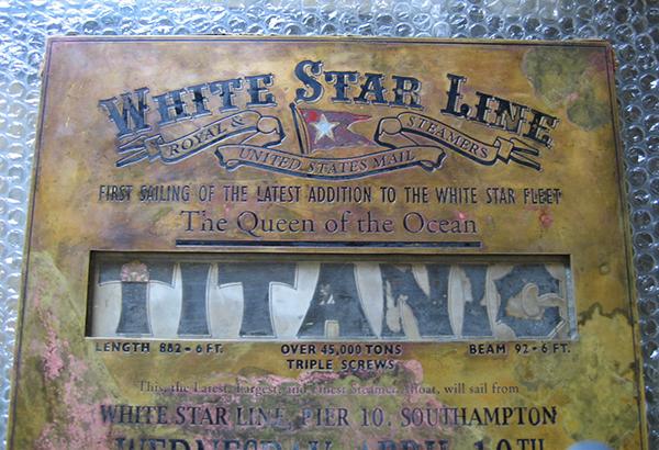Placa-Titanic