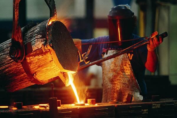 Producción de acero se reduce en Brasil