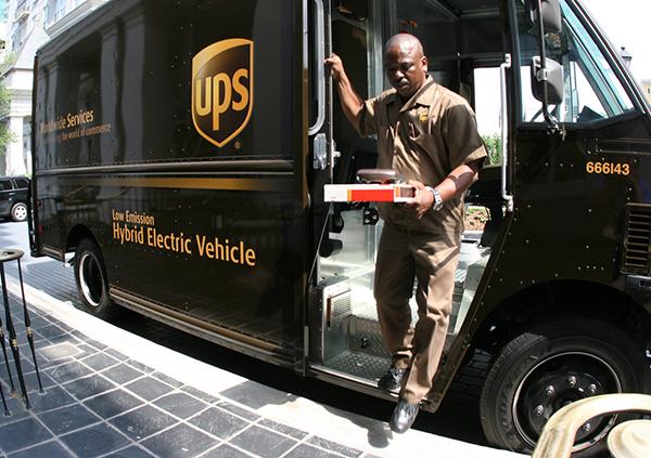 UPS-transportista