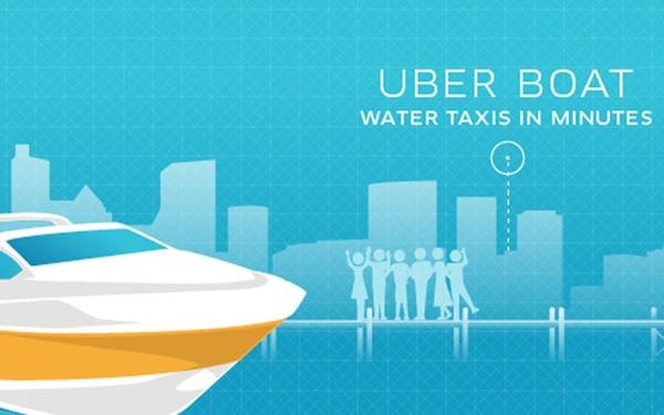Uber lanza servicio de transporte marítimo