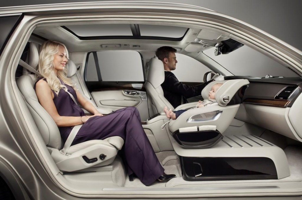 volvo excellence child seat
