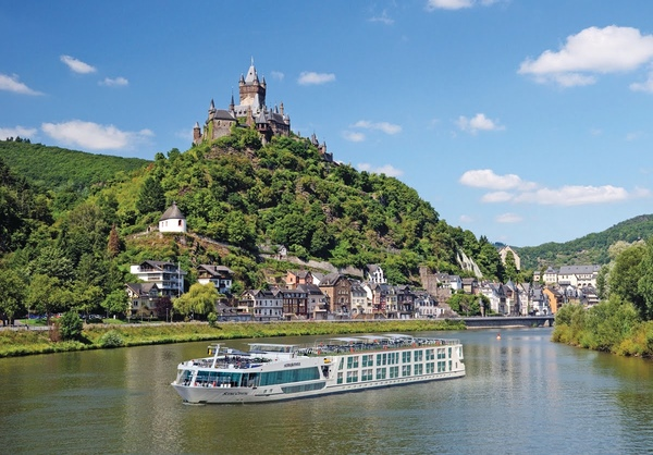 Cruceros fluviales en Europa vuelven a la normalidad