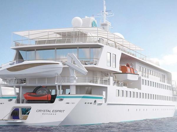 Crystal Cruises abre el plazo de reservas de cruceros en yate