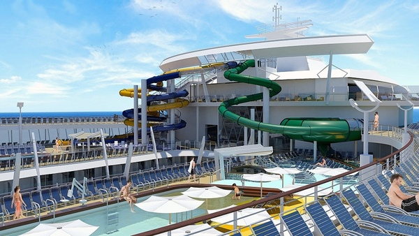 Harmony of the Seas tendra parque acuatico infantil