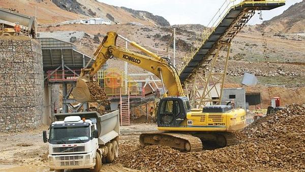 Minería sigue creciendo en Perú