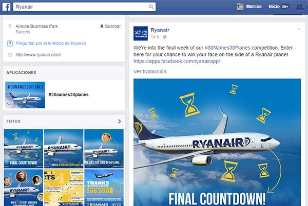 Ryanair-concurso-Facebook-concurso-Facebook