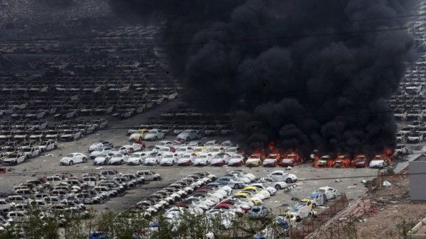 Tianying explosion