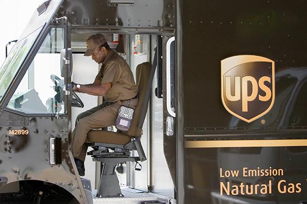 UPS-trabajador