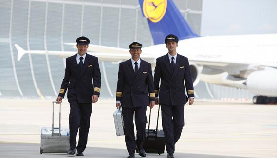 Pilotos de Lufthansa